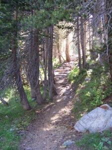 Gaylor Lakes Hike, Yosemite 2009.